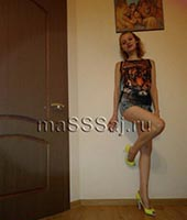 Мария, массажистка 23 года