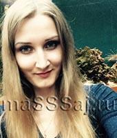 Ирен, массажистка 28 лет