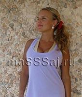 Вика, массажистка 30 лет