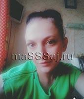 Оксана, массажистка 31 год