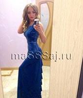 Маша, массажистка 35 лет