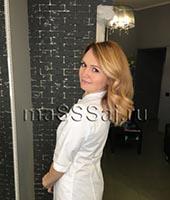Наталья, массажистка 39 лет