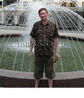 Олег, массажист 38 лет