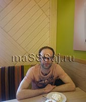 Антон, массажист 40 лет