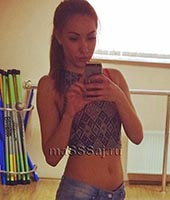 Полина, массажистка 24 года