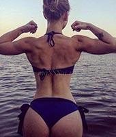 Альбина, массажистка 24 года