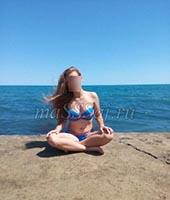 Яна, массажистка 23 года