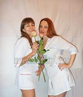 Кира и Света, массажистка 32 года