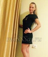 Анастасия, массажистка 33 года