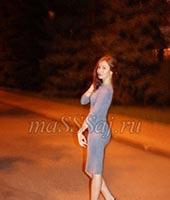 Евгения, массажистка 27 лет