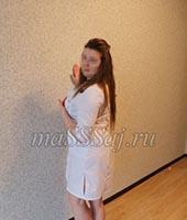 Алена, массажистка 31 год