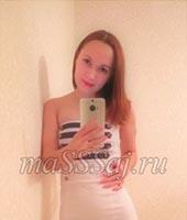 Юлия, массажистка 27 лет