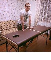 Евгений, массажист 28 лет