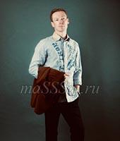 Макс, массажист 37 лет