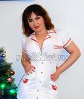 Марина, массажистка 34 года