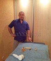Денис Петрович, массажист 44 года