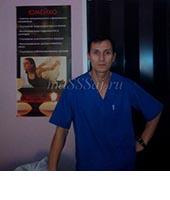 Cергей, массажист 40 лет