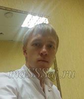Сергей, массажист 27 лет