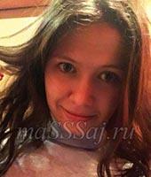 Лика, массажистка 24 года