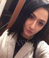 Александра, массажистка 24 года
