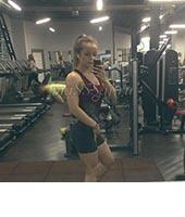 Катя, массажистка 23 года