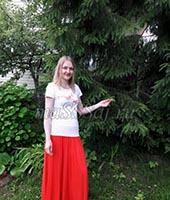 Кира, массажистка 2021 год