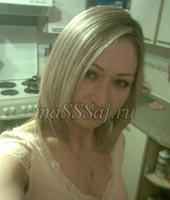 Светлана, массажистка 28 лет