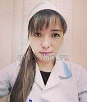 Жанара, массажистка 28 лет