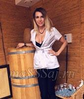 Женя, массажистка 24 года