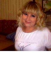 Юля, массажистка 44 года