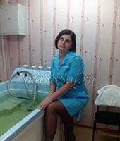 Оля, массажистка 37 лет