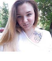 Женя, массажистка 23 года