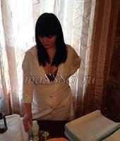 Анна, массажистка 31 год