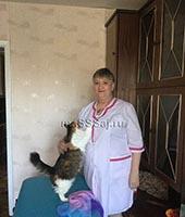 Вера Константиновна, массажистка 61 год
