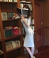 Алена, массажистка 27 лет
