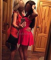 Лина и Наташа, массажистка 26 лет